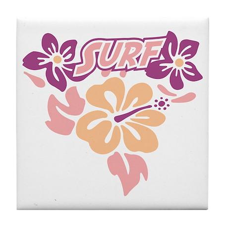 Surf Tile Coaster