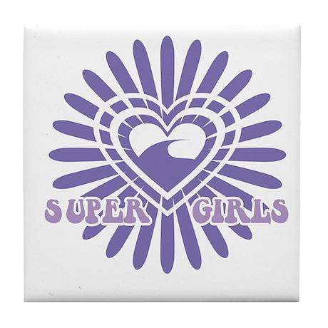 Super Girls Tile Coaster