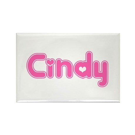 """Cindy"" Rectangle Magnet"