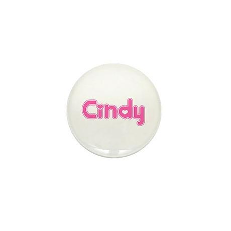 """Cindy"" Mini Button"