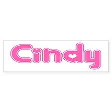 """""""Cindy"""" Bumper Bumper Sticker"""
