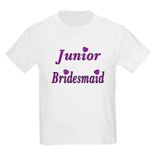 Junior Bridesmaid Simply Love T-Shirt