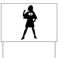 Spectrum Superheroes V1b Yard Sign