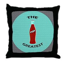 Greatest Pop Throw Pillow