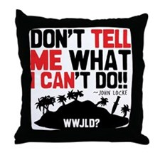 Don't Tell Me... Throw Pillow