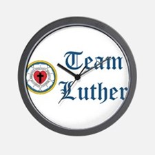 Team Luther Wall Clock