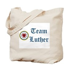 Team Luther Tote Bag