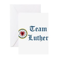 Team Luther Greeting Card