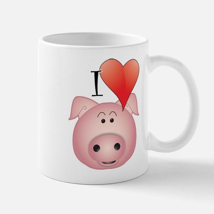 Cute Pig oink Mug