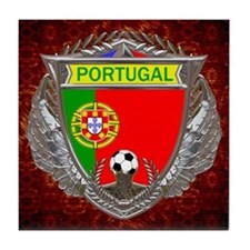 Portugal Soccer Tile Coaster
