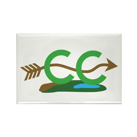 Cross Country Rectangle Magnet (100 pack)