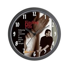 Wall Clock of Finding Our Fire Cover