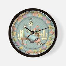 Country Cute Wall Clock