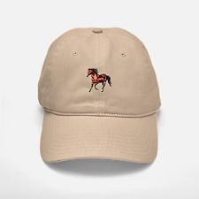 Cantering Bay Horse Baseball Baseball Cap