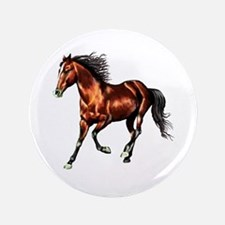 """Cantering Bay Horse 3.5"""" Button (100 pack)"""