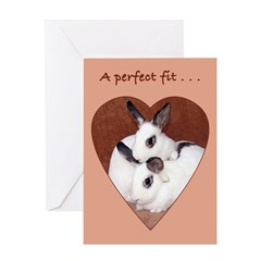 Bunny Anniversary Greeting Card