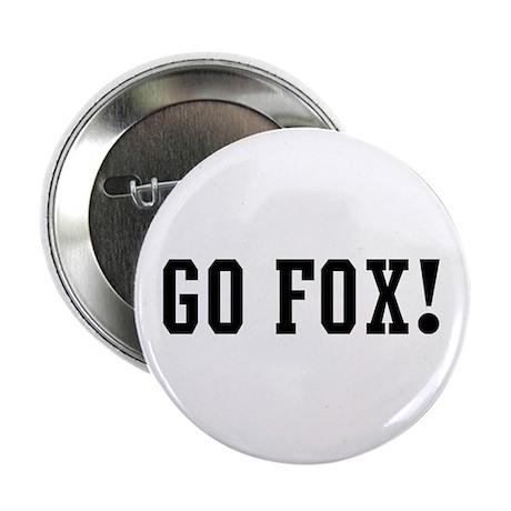 "Go Fox 2.25"" Button (100 pack)"