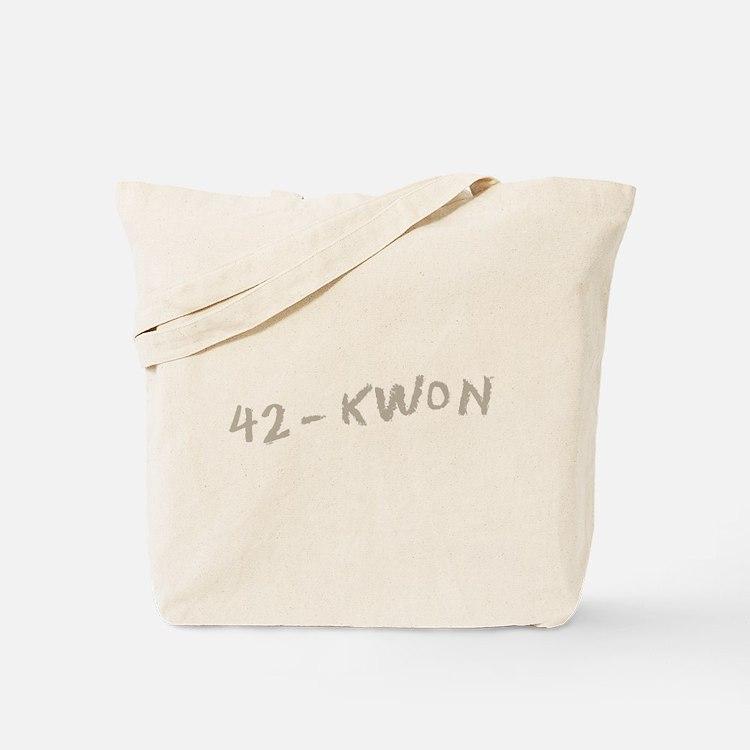 42 - Kwon Tote Bag