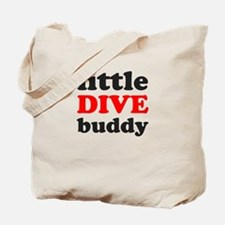 little dive buddy Tote Bag