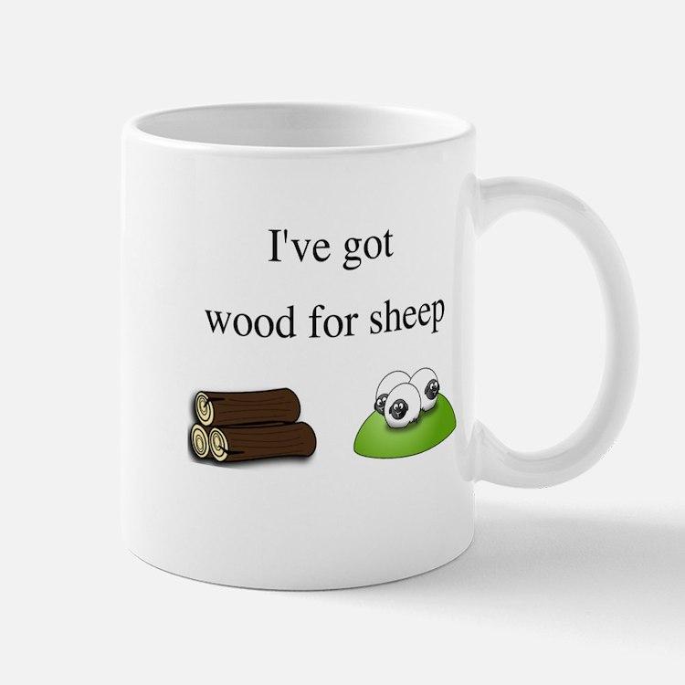 Wood For Sheep Mug