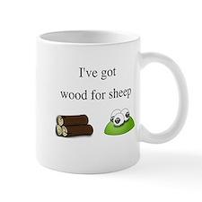 Wood For Sheep Small Mug