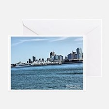 VANCOUVER HARBOR III Greeting Card