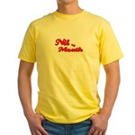 Transform your figure with this Yellow T-Shirt