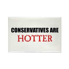 Conservatives Are Hotter! Rectangle Magnet (10 pac