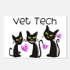 Vet Technician Postcards (Package of 8)