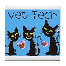 Vet Technician Tile Coaster