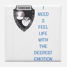Emotion Tile Coaster