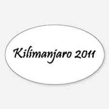 Kilimanjaro 2011 Decal