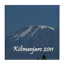 Kilimanjaro 2011 Tile Coaster