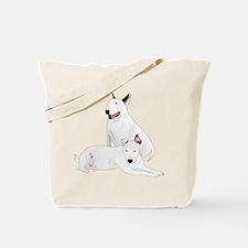 Bull Terrier Soli & Ozzy Tote Bag