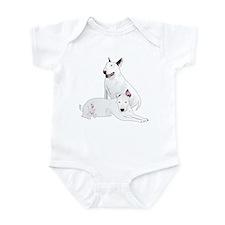 Bull Terrier Soli & Ozzy Infant Bodysuit