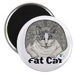 Fat Cat Magnet