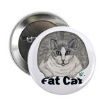 "Fat Cat 2.25"" Button"