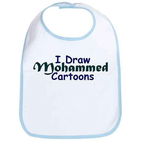 I Draw Mohammed Cartoons Bib
