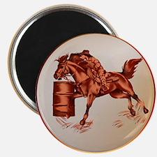 Barrel Racing Magnet