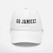 Go Janice Baseball Baseball Cap