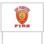 San Francisco Fire Department Yard Sign