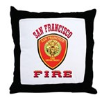 San Francisco Fire Department Throw Pillow