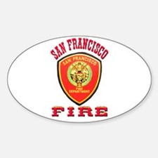 San Francisco Fire Department Decal