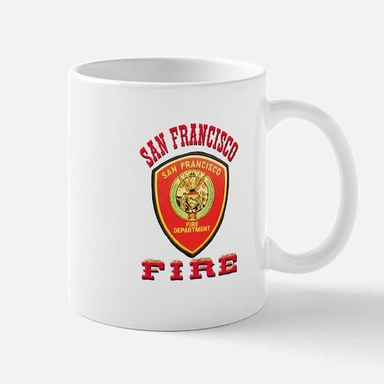 San Francisco Fire Department Mug
