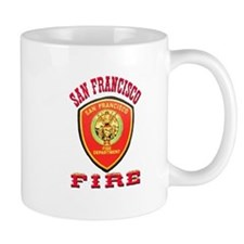 San Francisco Fire Department Mug