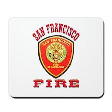 San Francisco Fire Department Mousepad