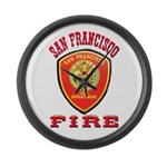 San Francisco Fire Department Large Wall Clock