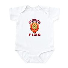 San Francisco Fire Department Infant Bodysuit