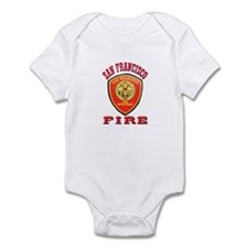 San Francisco Fire Department Onesie