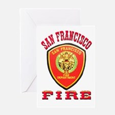 San Francisco Fire Department Greeting Card